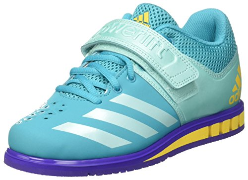adidas Powerlift.3.1 W, Chaussures de Fitness Femme Bleu (Energy Blue S17/energy Aqua F17/noble Ink F17 Energy Blue S17/energy Aqua F17/noble Ink F17)
