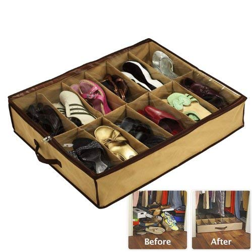 Under Bed Space-Saving Solution for Shoes 80-00709