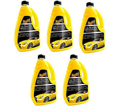 Meguiars G17748 Ultimate Wash and Wax CCSwt, 5Units (48 Ounce)