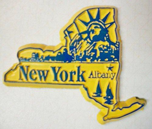New York Albany Fridge Magnet - Albany New York