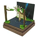 Mini Princess Mononoke Hime God Sankei Studio Ghibli forest scale papercraft MP07-43
