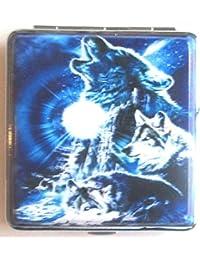 Wolf Full Size Cigarette Case