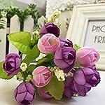 MoversShakers-Tulip-Artificial-Flower-Artificial-Bouquet-Flowers-Home-Decoration-Flowers