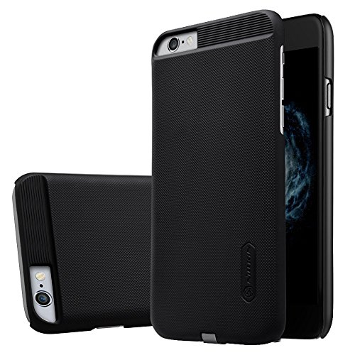 iPhone 6 Case, iPhone 6S Case, Nillkin [Magic Case Series] QI Wireless Charging Receiver Case Back Cover [Compatible with Nillkin Car Magnetic Wireless Charger] for Apple iPhone 6/6S 4.7- Black