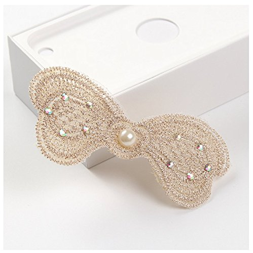 - [) Korea Magic Sticky Paste Posting Broken Posts Posted Bangs Paste Fixed Bow (Diamond Pearl Butterfly