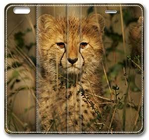 Cheetah Cub iPhone 6 Plus Wallet Case, Apple iPhone 6 Plus (5.5