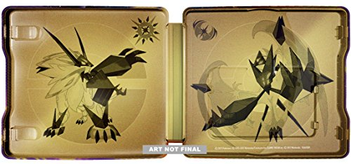 Pokémon Ultra Sun and Ultra Moon Steelbook Dual Pack - Nintendo 3DS by Nintendo (Image #4)