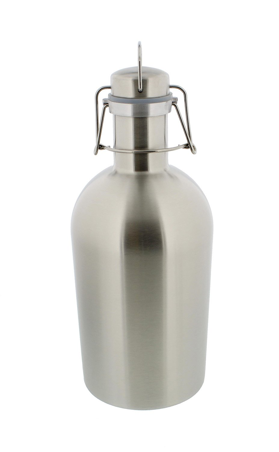Beer Growler - 1 liter, 33 ounces - Stainless Steel with Swing-Top, Keeps Homebrew Fresh and Cold with Airtight Seal G Francis Brew COMINHKPR126281