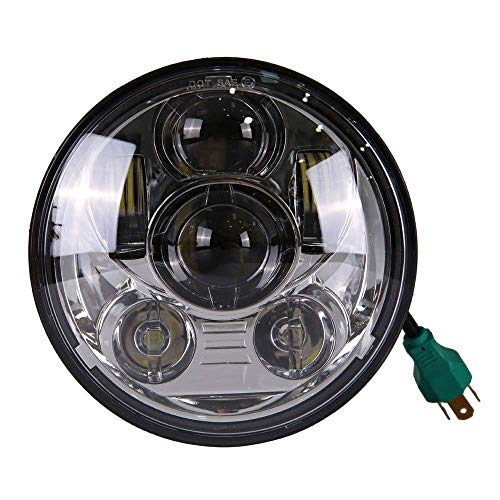 "Price comparison product image KABOCHO 5-3 / 4"" 5.75"" 45W LED Headlight for Harley Davidson Motorcycle"