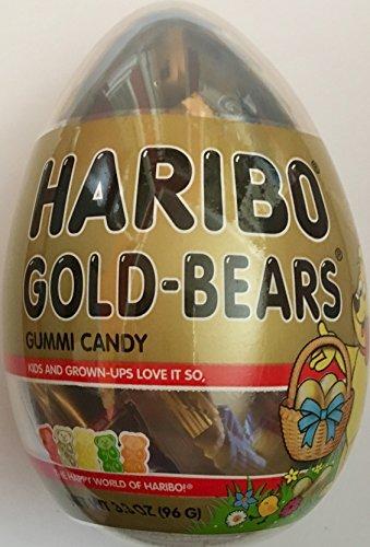 Haribo Gold-Bears Gummy Bears in Gold Easter Egg