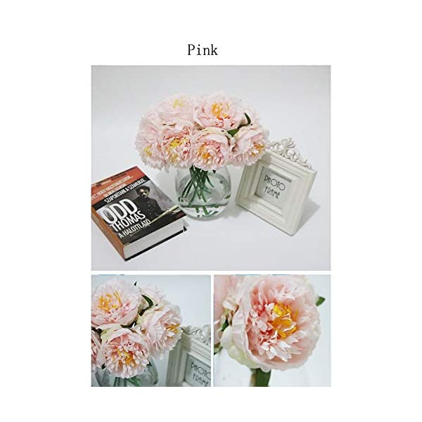 Artificial-Flowers-Fake-Flowers-5-Heads-Peony-Flowers-Short-Stem-Bouquet-for-Home-Garden-Xmas-Party-Wedding-Flower-Arrangement-Shops-Grave-Decor