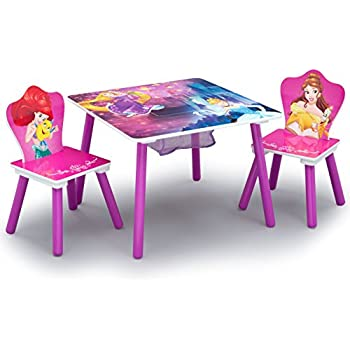 Amazon Com Delta Children Kids Chair Set And Table 2