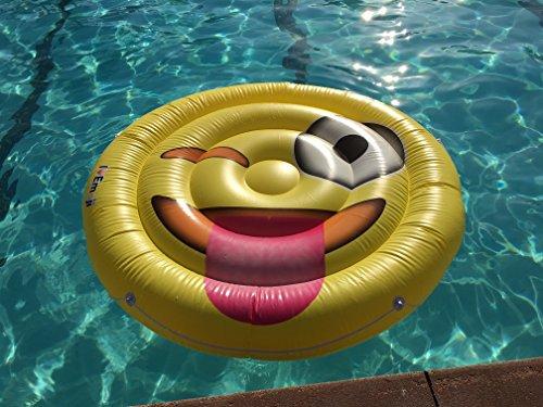 Emoji Swimming Tongue Emoticon Parties product image