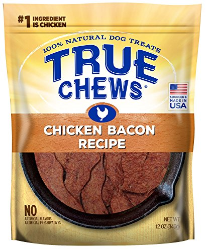 - True Chews Chicken Bacon Recipe 12 oz