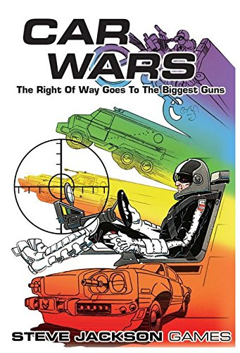 Steve Jackson Games Car Wars Classic Board Game (Graph Paper With Numbers Up To 30)