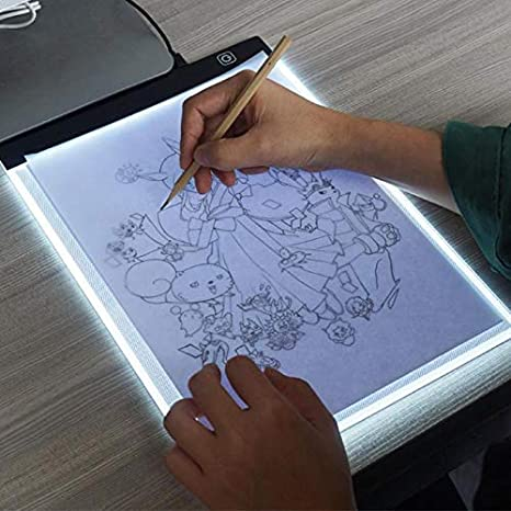 Computer Peripherals Digital Graphic Tablet A4 Led Graphic Artist Thin Art Stencil Drawing Board Light Box Tracing Table Pad Drawing Graphic Tablets Computer & Office