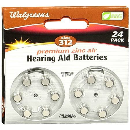 Hearing Aid Batteries #312 - 3PC