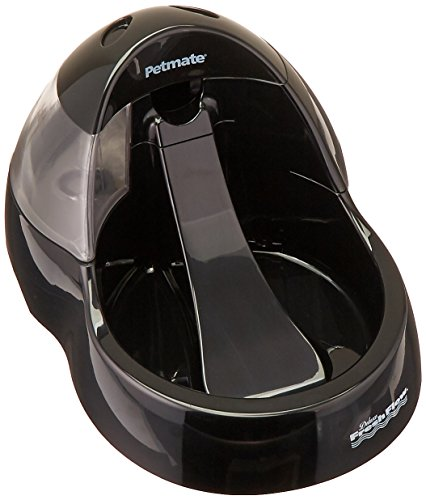 - Petmate Deluxe Fresh Flow Purifying Pet Fountain, 108 oz Capacity