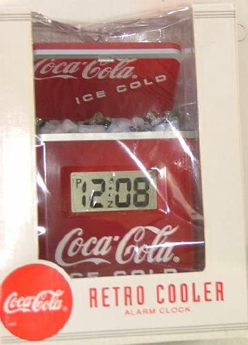Coca Cola Retro Cooler Alarm Clock