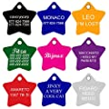CNATTAGS Dog Tags Pet Tags personalized | 11 Shapes | 8 Colors | Premium Aluminum