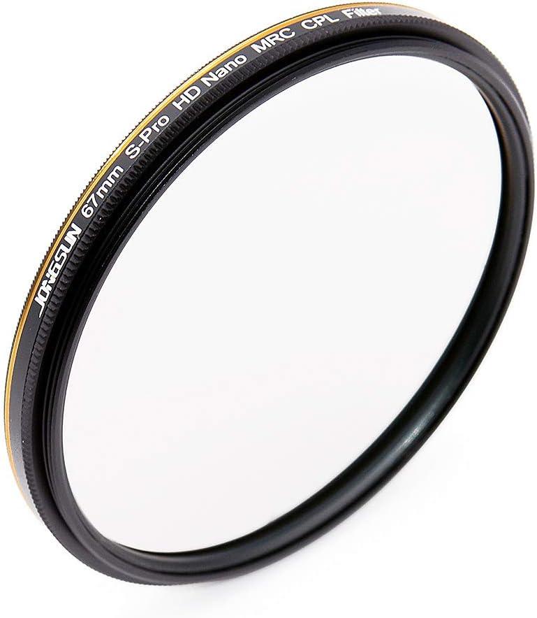 16-lagiger Mehrlagenbeschichtung Optisches Glas NITTO AGC JONGSUN Polfilter 49mm Zirkularer Polarisationsfilter CPL Filter S-Pro HD Nano MRC16