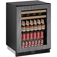 U-Line U1224BEVINT00A Built-in Beverage Center, 24, Stainless Steel