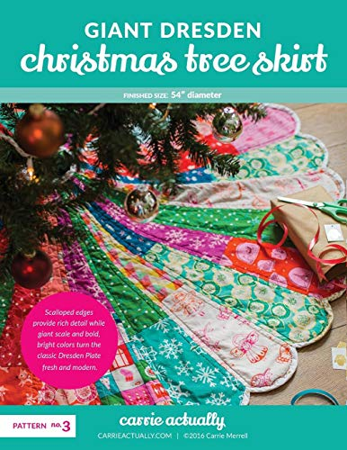 Giant Dresden Christmas Tree Skirt