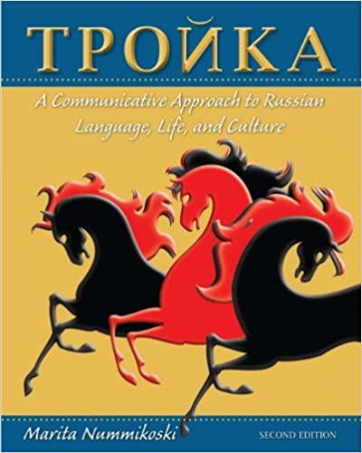 Troika A Communicative Approach To Russian Language Life And