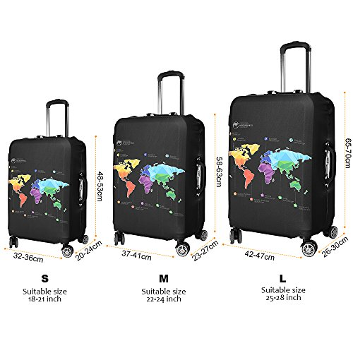 Asiv luggage cover protectorsoft thicken elastic anti dust luggage asiv luggage gumiabroncs Image collections