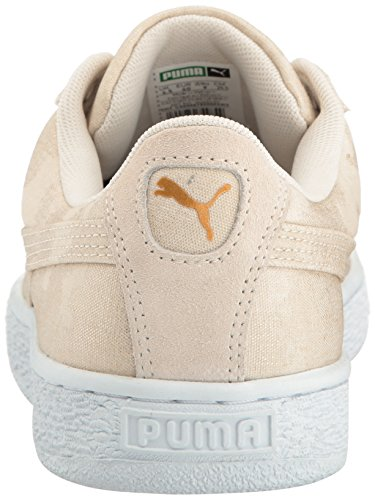 Puma Donna Wn's Denim In puma Oatmeal White Da Pumabasket Basket rTA1qrU