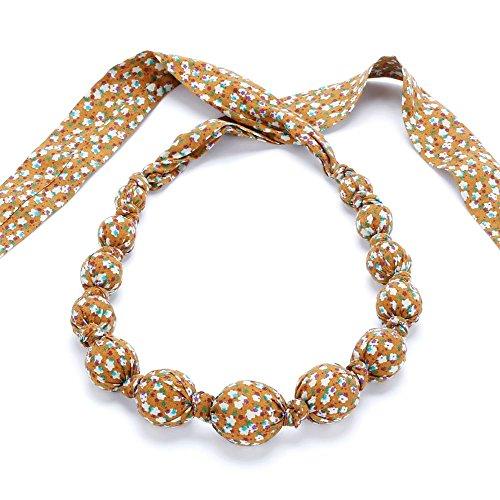 - Girls Loveable Necklace - Star Burst - Mustard - One Size