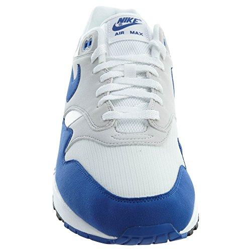 Nike Air Max 1 ° Anniversario Uomo Bianco / Gioco Grigio Royal-neutral