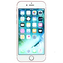 Apple iPhone 7, GSM Unlocked , 32GB - Rose Gold (Renewed)