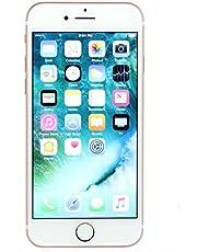 Apple iPhone 7, 32GB, Rose Gold - Fully Unlocked (Renewed)