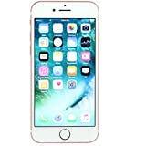 Apple iPhone 7, GSM Unlocked, 32GB - Rose Gold (Renewed)