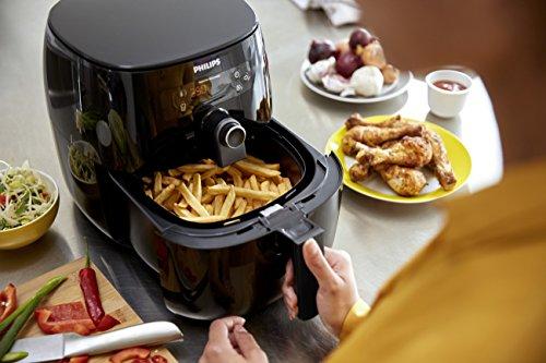 Philips Kitchen Appliances Avance Digital Turbostar Airfryer (1.8lb/2.75qt), Mini-v192