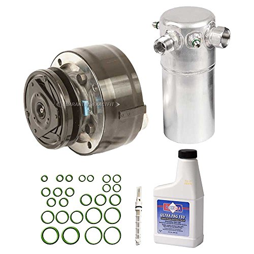 AC Compressor w/A/C Repair Kit For Chevy C10 C20 Suburban K10 & GMC Jimmy - BuyAutoParts 60-81936RK New