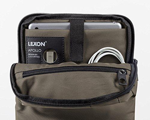 Lexon Borsa a spalla, marrone (marrone) - LN1610M