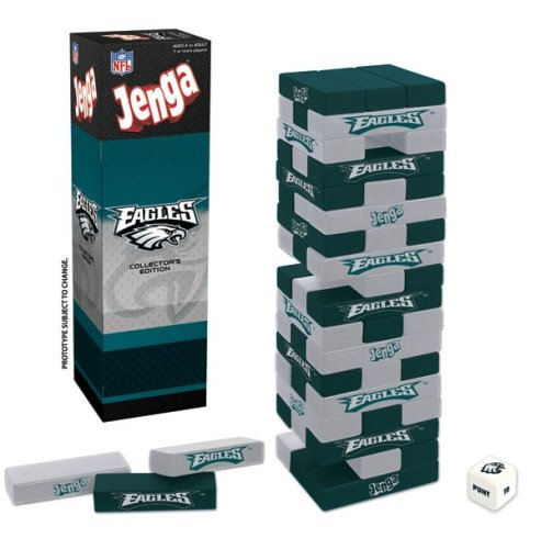 Philadelphia Eagles Jenga by USAopoly