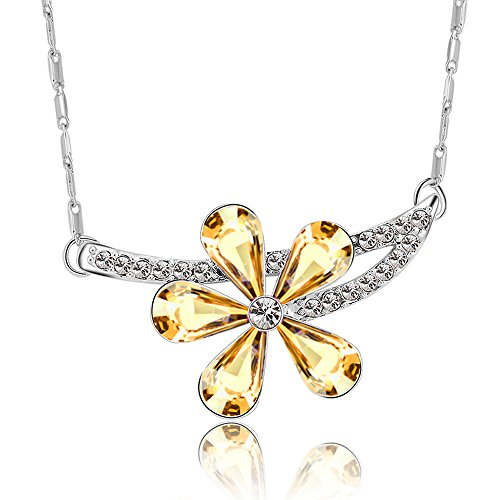 the-starry-night-crystal-golden-shadow-austrian-crystal-branches-flower-diamond-accented-silver-neck