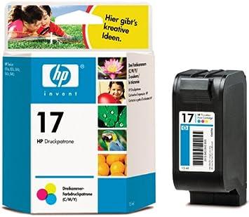 Hp Tintenpatrone 17 N Für Hp Deskjet 816c 825c 840c 843c 845c Bürobedarf Schreibwaren