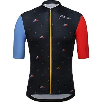 Amazon.com: Santini Andorra C Plus Rider - Camiseta de manga ...
