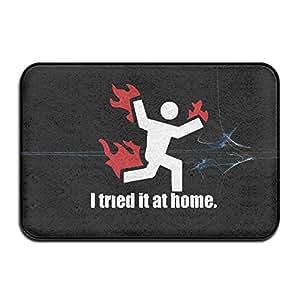 I intentado It en casa ciencia proyecto Funny Funny al aire libre Cute Doormats