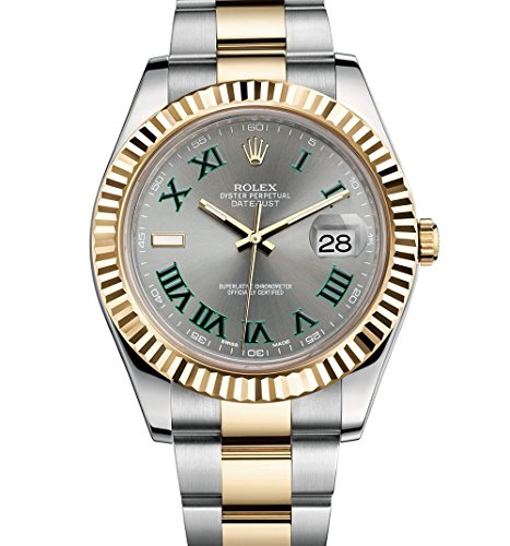 ROLEX DATEJUST II 2 STEEL & YE