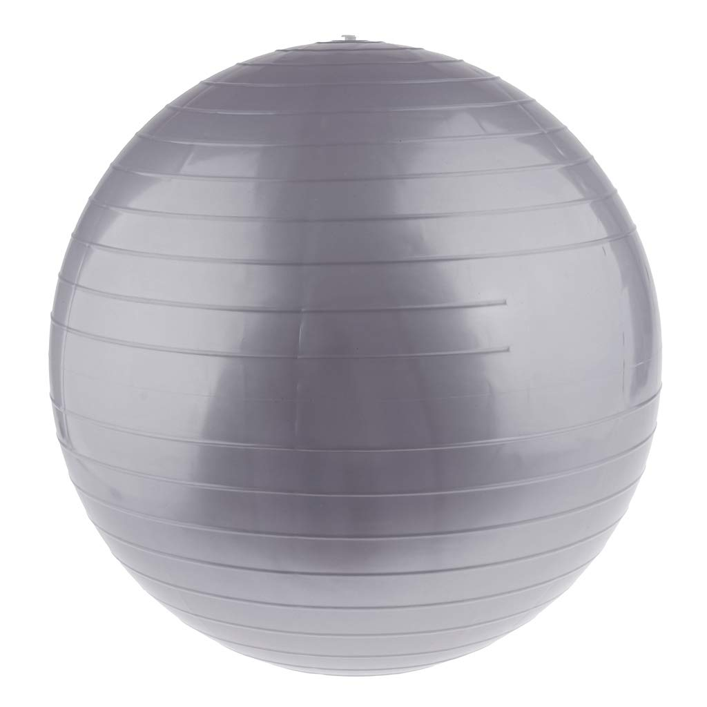 P Prettyia Ejercicio F/ísico Ejercicio de Yoga Balance Ball Anti Burst para Fortalecer M/úsculos Centrales Mejorar Equilibrio Perder Peso,