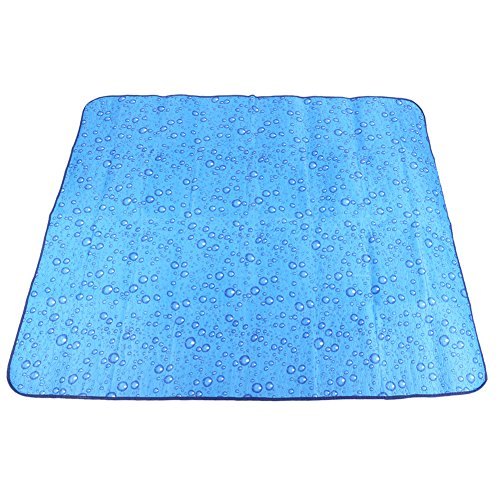 Alloet Portable Beach Mat Waterproof Camping Cushion for Outdoor Beach Hiking