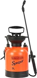 CLICIC Lawn and Garden Portable Sprayer 0.8 Gallon - Pump Pressure Sprayer Includes Shoulder Strap