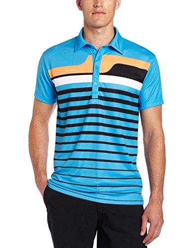 Sligo Wear Men's Stratford Polo Shirt, Brooklyn Blue, Medium