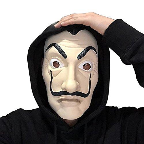 Amazon.com: Luxury & Trendy 50 Pcs La Casa De Papel Masks Dali Mask Wholesale Packet: Clothing
