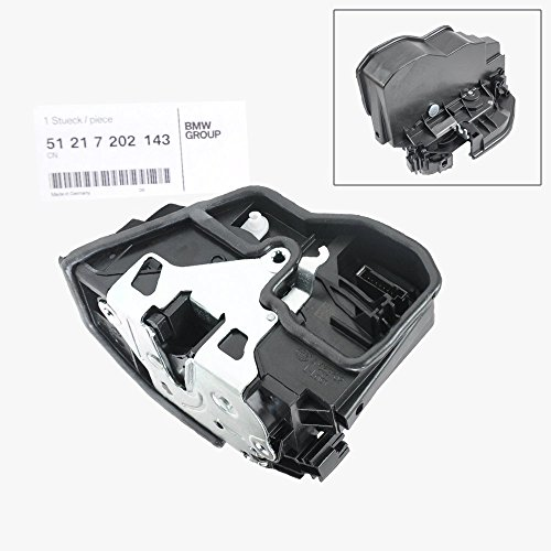 BMW Front Door Lock Actuator Mechanism Left Driver Side Genuine Original 51217202143 (Door Front Drivers Side)